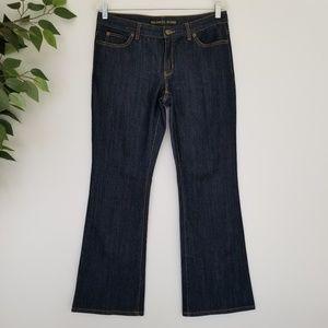 Michael Kors Dark Wash Boot Cut Denim Jeans 6